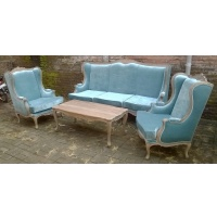 Indonesia furniture manufacturer and wholesaler Antique Style Sofa Set