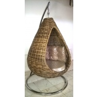 Indonesia furniture manufacturer and wholesaler Rattan Hanging Sofa