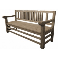 Indonesia furniture manufacturer and wholesaler Georgian Bench 3 Seaters