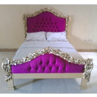 Indonesia furniture manufacturer and wholesaler Queen Bed