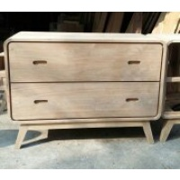 Indonesia furniture manufacturer and wholesaler Retro Chest 2 Drawer
