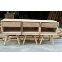 Indonesia furniture manufacturer and wholesaler Retro Side Table 1 Drawer