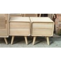 Indonesia furniture manufacturer and wholesaler Retro Side Table 2 Drawer