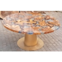 Indonesia furniture manufacturer and wholesaler River Bulat Round Table