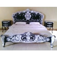 Indonesia furniture manufacturer and wholesaler Rococo Bed